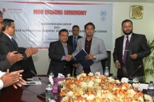 Sayem Sobhan Anvir MD of Bashundhara Group-ICMAB signs MoU