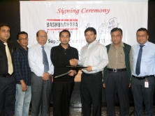 Sayem Sobhan Anvir Signed Agreement with NDE ReadyMix Concrete Ltd
