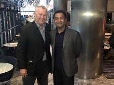 Sayem Sobhan Anvir with US Congressman Dana Rohrabacher